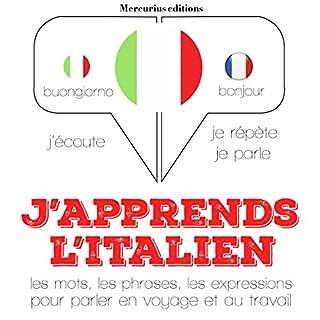 Couverture de J'apprends l'Italien
