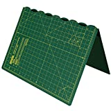 ANSIO Craft Cutting mat A3 Self Healing Foldable Cutting Mat - Quilting, Sewing, Scrapbooking, Fabric & Papercraft - Imperial 17 Inch x 11 Inch - Green