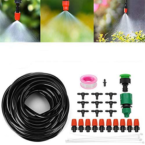 EsportsMJJ 10M Tubing Auto/Handmatige Watering Druppelirrigatiesysteem Sproeiing Tuinslang Gereedschap Kit
