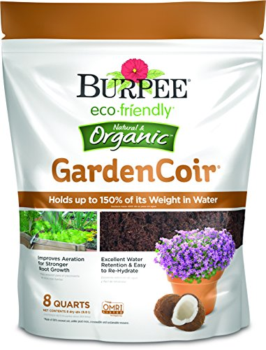 Burpee Natural & Organic GardenCoir, 8 Quart, (1 Pack)