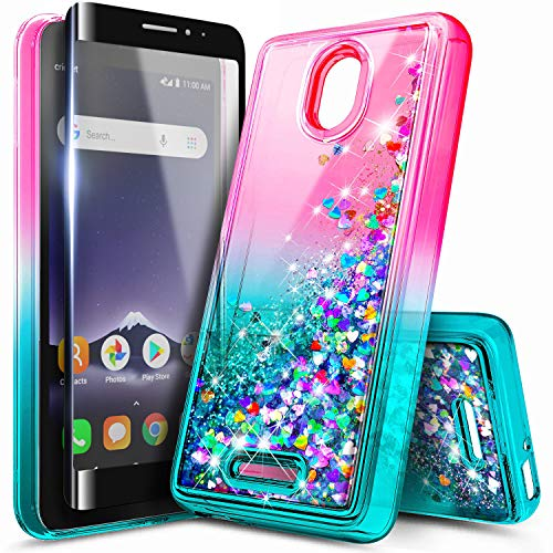 Alcatel TCL A1 Glitter Liquid Case by NageBee