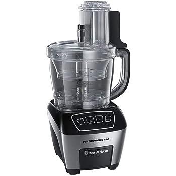Russell Hobbs 22270-56 - Robot de cocina, 800 W, 3 velocidades y función Pulse, color negro: Amazon.es: Hogar