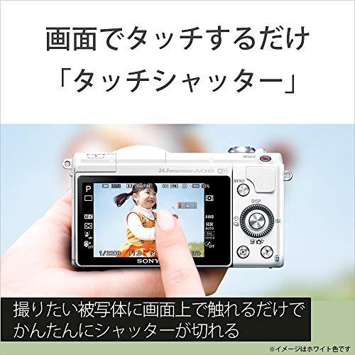 ソニーミラーレス一眼α5100パワーズームレンズキットEPZ16-50mmF3.5-5.6OSS付属ホワイトILCE-5100L-W