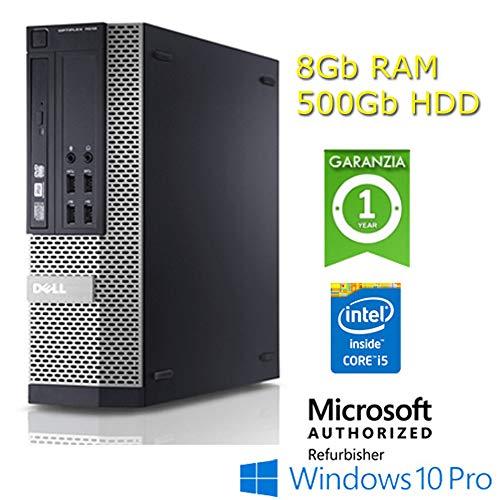 Dell - PC Optiplex 7010 DT Core i5-3470 3.2GHz 4Gb 250Gb DVDRW Windows 10 Profesional DESKTOP (Generalüberholt)