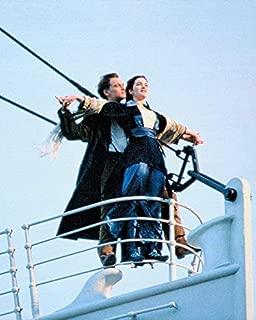 Leonardo DiCaprio & Kate Winslet On Bow Titanic 8 x 10 Metal Aluminum Tin Gloss Sign