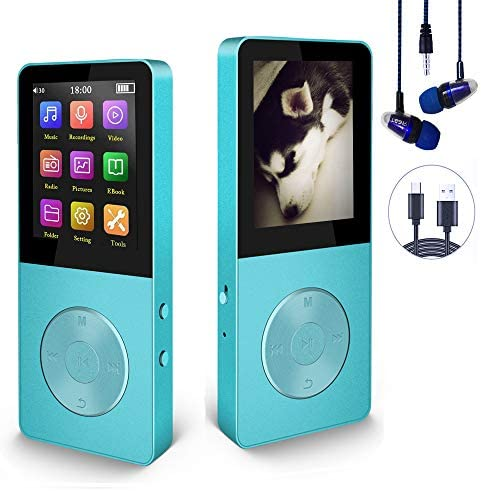 Mp3 Player Hotechs Hi Fi Sound with FM Radio Recording Function Build in Speaker Expandable product image