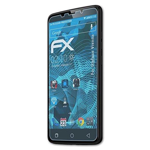 atFolix Schutzfolie kompatibel mit Ulefone Vienna Folie, ultraklare FX Bildschirmschutzfolie (3X)