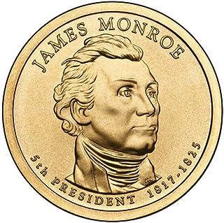 2008 P Position A Satin Finish James Monroe Presidential Dollar Choice Uncirculated US Mint