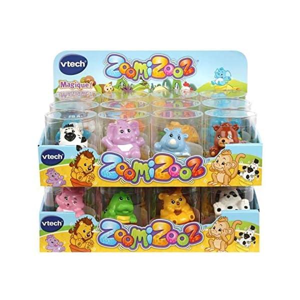VTech ZoomiZooz Animaux Assortis (En Présentoir) - Juegos educativos (Multicolor, Niño/niña, 1 año(s), 5 año(s), Francés, 276 mm)