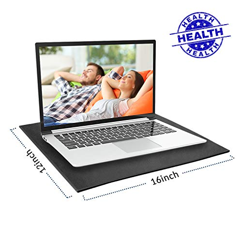 NewBeau EMF Protection Laptop Pad, Anti Radiation & Heat Shielding Laptop Tray Used to Protect The Body from EMF Effects, Fits Laptops, Notebooks, Tablets