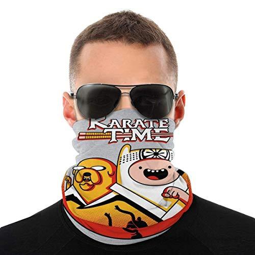 ASDAH Karate Time Adventure Kid Variety Kopftuch Gesichtsschutz Magic Headwear Neck Gaiter Face Bandana Schal
