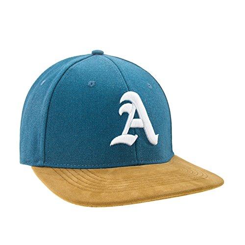 Morefaz Nouveau Snapback Cap Toit en suède Casquette de Baseball Bonnet Cap Chapeau Snap Back 3D Gothique A (A White)