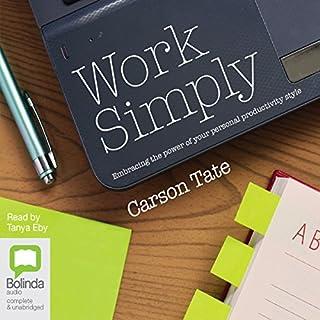 Couverture de Work Simply