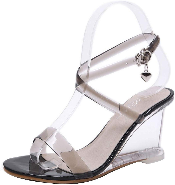 CularAcci Women Fashion Wedge Heel Sandals
