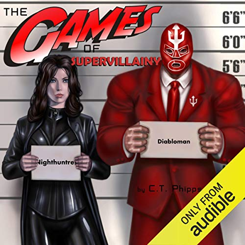 The Games of Supervillainy audiobook cover art