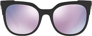 Armani Exchange Sunglass for Women , Cat Eye Pink-AX4075S 81585R 53