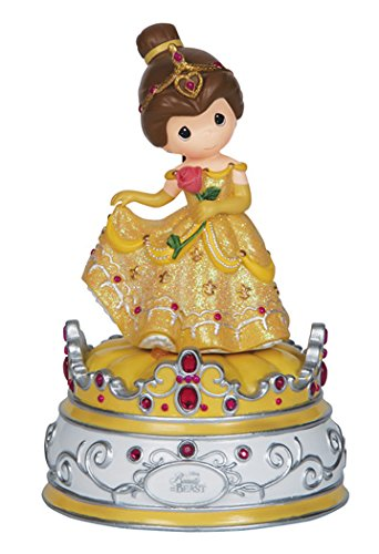 Precious Moments, Disney Showcase Collection, Beauty And The Beast, Resin Music Box, 144104