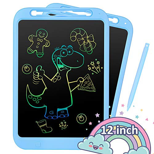 LCD Writing Tablet 20 Inches Colorful Doodle Board LCD Screen Writing Tablet Drawing Board for All Ages LCD Drawing Board Color : Pink, Size : 20 inches