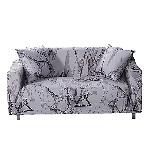 WXQY Funda para sofá elástica Funda para sofá de Sala de Estar Funda para sofá elástica seccional Funda para sillón en Forma de L Funda para sofá A1 2 plazas