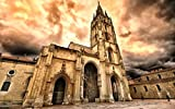 3D Diy Digital Painting By Numbers Oviedo Cathedral Modern Wall Art Canvas Painting Christmas Unique Gift Home Decor 30 * 40cm