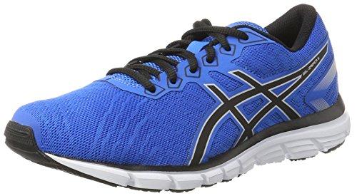 Asics Gel-Zaraca 5, Zapatillas de Running Hombre, Azul (Directoire Blue/Black/Hot Orange), 41.5 EU