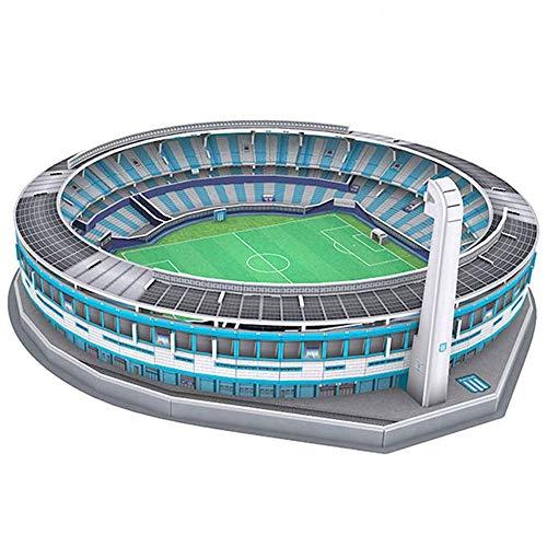 YWAWJ Competencia Estadio Deportivo Estadio Modelo 3D Puzzle DIY Kit Recuerdo Fascinations Modelo