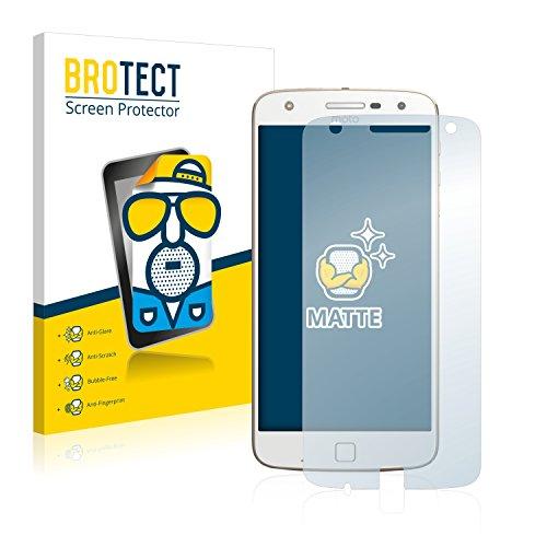 BROTECT 2X Entspiegelungs-Schutzfolie kompatibel mit Motorola Moto Z Play Bildschirmschutz-Folie Matt, Anti-Reflex, Anti-Fingerprint