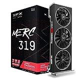 XFX Speedster MERC319 AMD Radeon RX 6700 XT Black Gaming Graphics Card with 12GB GDDR6 HDMI 3xDP, AMD RDNA 2 RX-67XTYTBDP