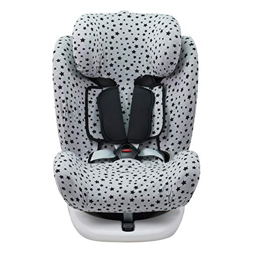 Janabebé Funda para Star Ibaby, Baby Auto Fix Noe (BLACK STAR)