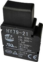 KEDU HY79-21 Interruptor de gatillo de mano eléctrico herramienta interruptores de llave para taladro eléctrico herramientas de jardín cortacésped 125/250V 22/12A 2 unidades