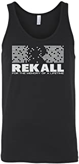 Rekall -Total Recall Movie Graphic Men's Tank Top