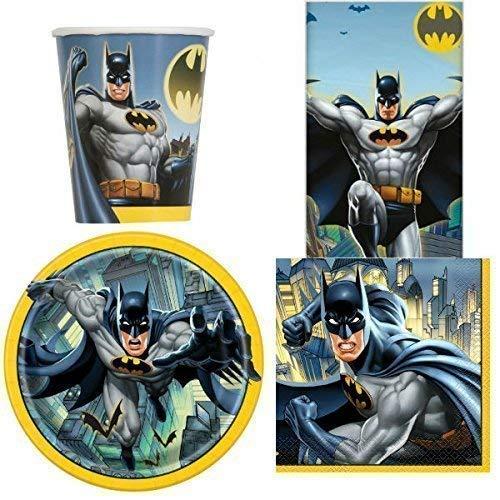 Batman Vajilla para fiesta para 8