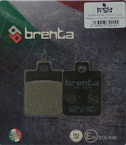 Brenta FT 3014 - Pastillas de freno orgánicas para moto, juego de 2