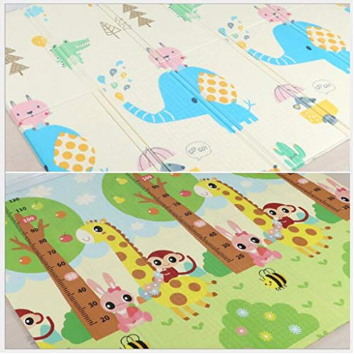 Learn More About Fvdsghdf Baby Play mat, XPE Folding Crawling mat, Non-Toxic Double-Sided Pattern De...