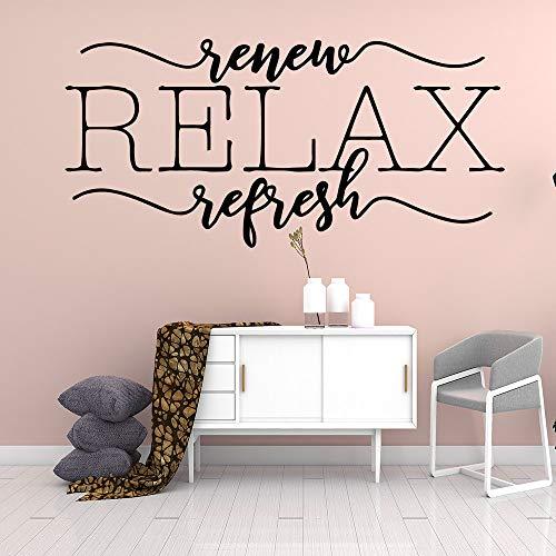 mlpnko Kreative Entspannung Home Wandaufkleber Künstler Home Decor Kinderzimmer Wohnaccessoires,CJX10430-37x77cm