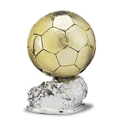 Trofeo Replica Balón de Oro Cristiano Ronaldo 24cm Resina Grabado Trofeos Personalizados Trofeos Deportivos Trofeos de Futbol (29) (24)