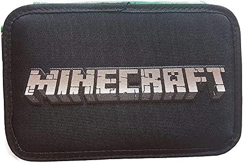 Panini spa Estuche escolar compatible con Minecraft Triple 3 cremalleras completo 2022
