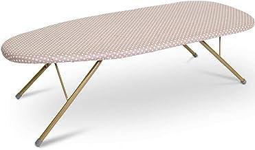 Household Desktop Ironing Board Desktop ironing table, stable metal folding ironing board space savings bedroom household ...