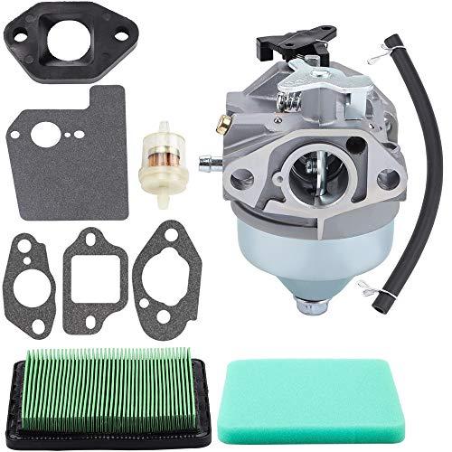 Kizut Carburetor Air Fuel Filter Tune Up Kit for Honda GC190 GCV190 GCV190A GV190LA Engine HRB217 HRX217 HRX217K1 HRX217K2 Lawn Mower