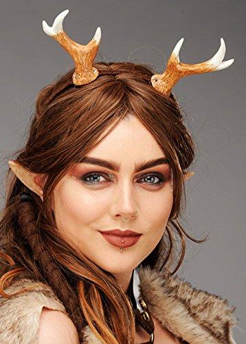 Magic Box Int. Womens Fantasy Woodland Faun Hörner Kopfschmuck