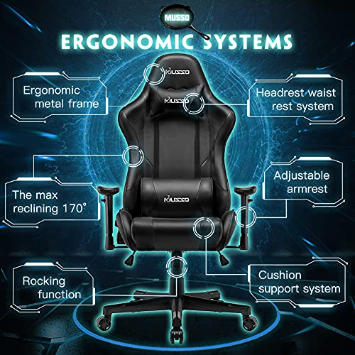 Hughouse Musso Ergonomic Gaming Chair