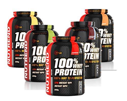 Proteina Whey De Suero En Polvo Nutrend 100% Sabor A Tiramisu Por Espectro Perfecto Nutrend 2250g