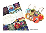 Wood Jesse Tree Advent Ornaments ~ Unwrapping the Greatest Gift (Book not Included)