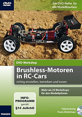 DVD-Workshop: Brushless Motoren in RC-Cars richtig einstellen, betreiben und tunen, 1 DVD