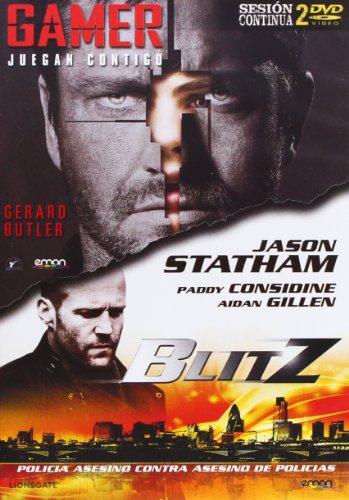 Pack: Gamer + Blitz (Import) (Dvd) (2012) Gerard Butler; Jason Statham; Mark Nev