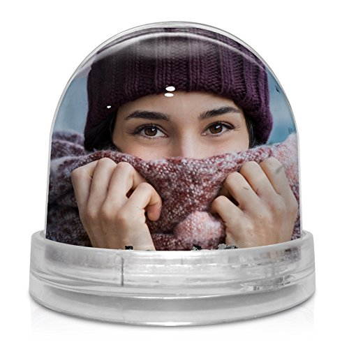 LolaPix Bola de Brillantes Personalizada con tu Foto, diseño o Texto,