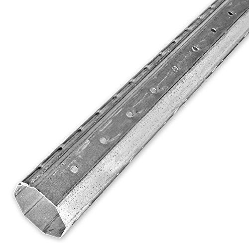 1,7 m Mini Achtkant Rolladenwelle SW 40 (Stahlwelle), individuell kürzbar, verzinkt, aussenliegende Falz, von EVEROXX®