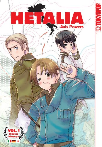 Hetalia Axis Powers Volume 1.