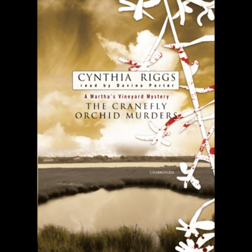 The Cranefly Orchid Murders  audiobook cover art