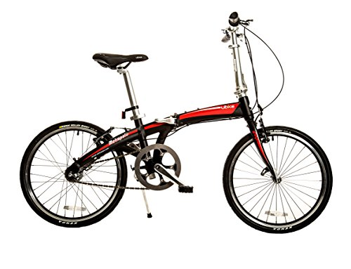 "Bike USA Ubike Metropolis Internal Hub 3-Speed Folding Bicycle with 20"" Wheel, 10""/One Size"